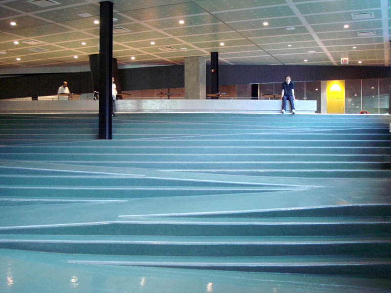 Good Iit Student Center Stairs Ramp Chicago Rem Koolhaas 8 Amazing Examples Of  Ramps Blended Into Stairs