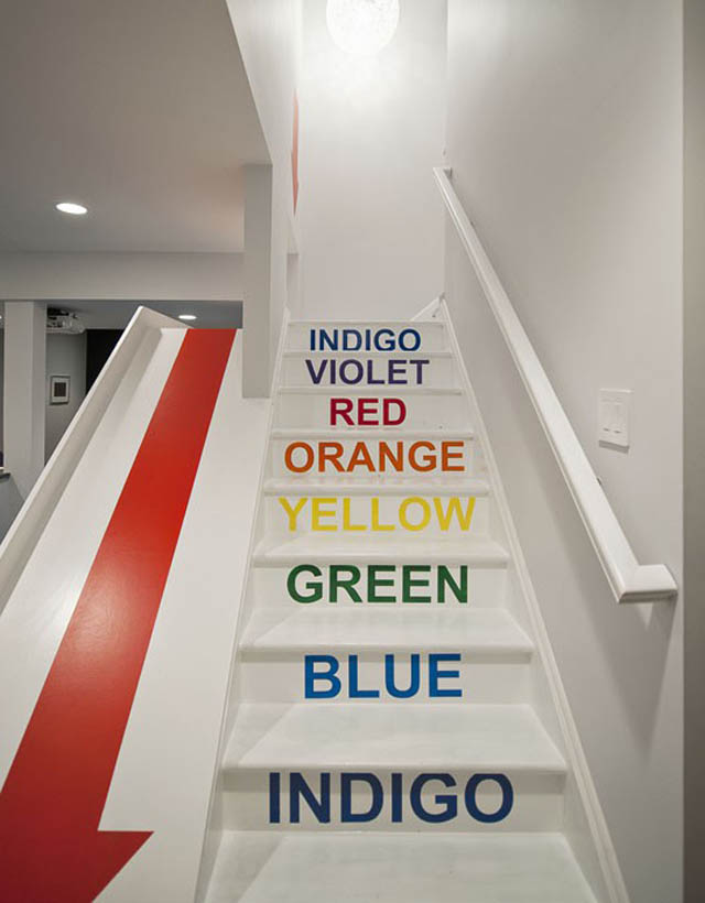 Lighting Basement Washroom Stairs: 10 Awesome Stairs With Slides «TwistedSifter