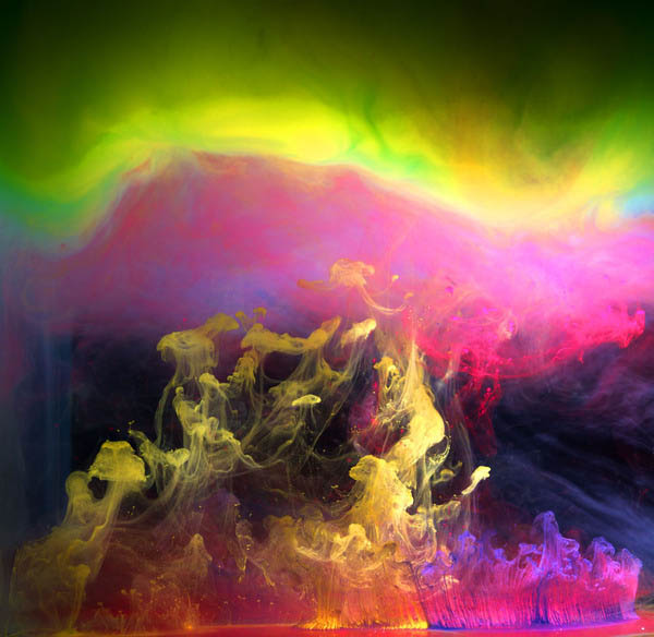 ink in water aqueous series mark mawson 6 Ink Explosions Under Water by Mark Mawson