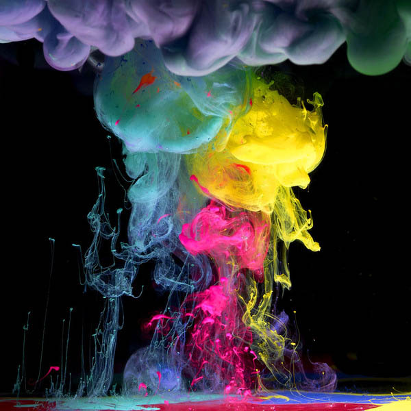 ink in water aqueous series mark mawson 7 Ink Explosions Under Water by Mark Mawson