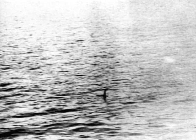 loch ness monster fake photo uncropped showing much more of the lake