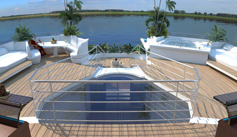 man made floating island boat orsos 12 Orsos: The Moveable Floating Island