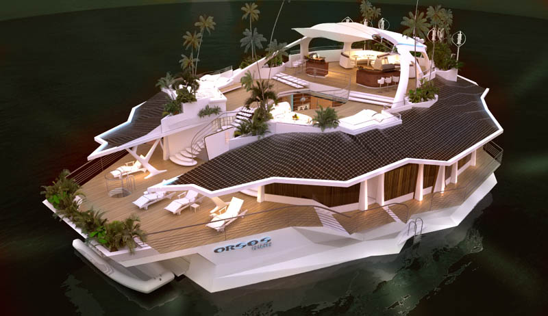 man made floating island boat orsos 16 Orsos: The Moveable Floating Island