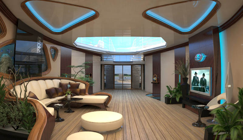 man made floating island boat orsos 28 Orsos: The Moveable Floating Island
