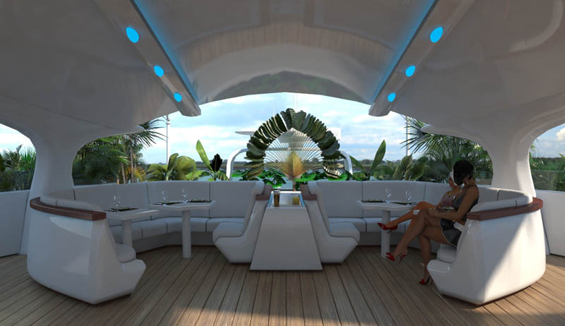 man made floating island boat orsos 29 Orsos: The Moveable Floating Island