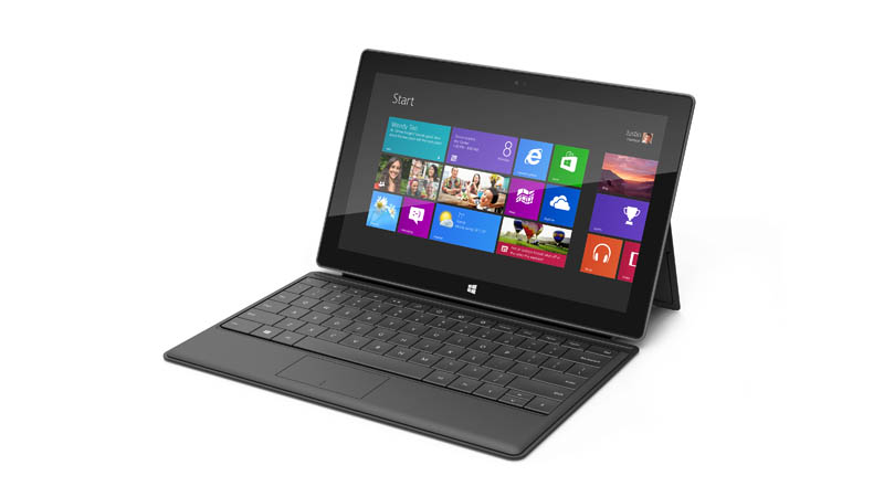 microsoft surface tablet with keyboard cover case