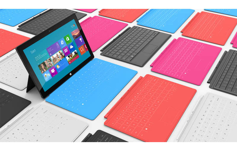 Microsoft Unveils New 'Surface' Tablets