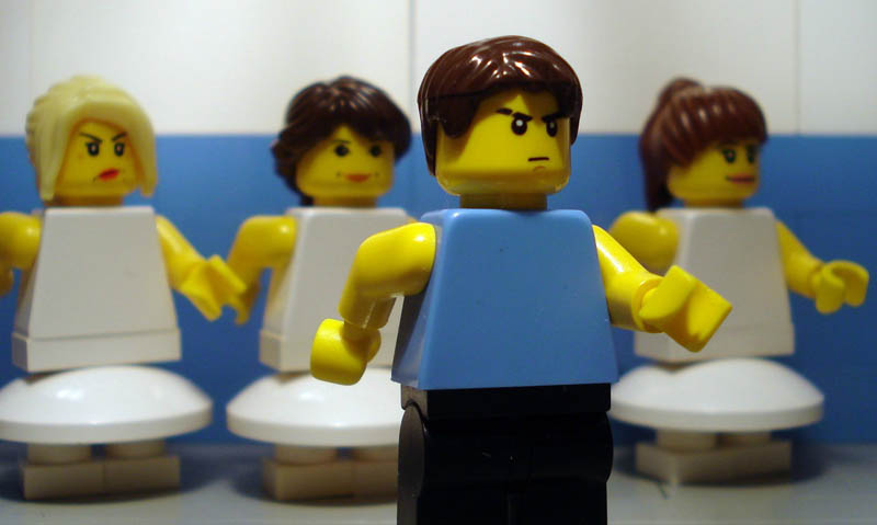 recreating movie scenes from lego alex eylar billy elliot Recreating Famous Movie Scenes with Lego