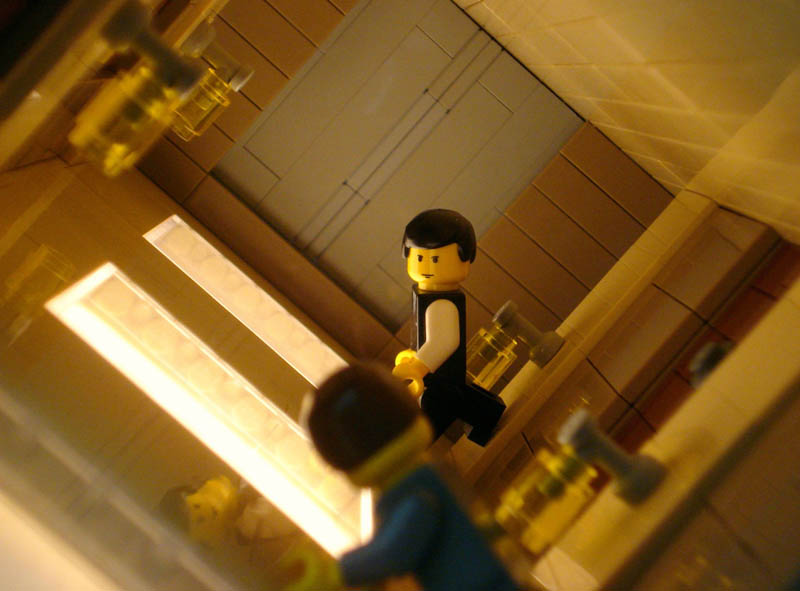 recreating movie scenes from lego alex eylar inception Builders Recreate the Bat Cave Using 20,000 Pieces of LEGO