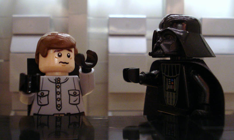recreating movie scenes from lego alex eylar star wars Recreating Famous Movie Scenes with Lego