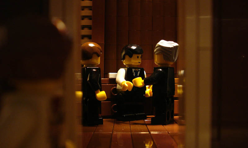 recreating movie scenes from lego alex eylar the godfather Recreating Famous Movie Scenes with Lego