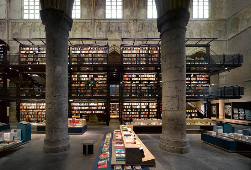 selexyz dominicanen bookstore church conversion netherlands 3 The Worlds Most Beautiful Bookstore