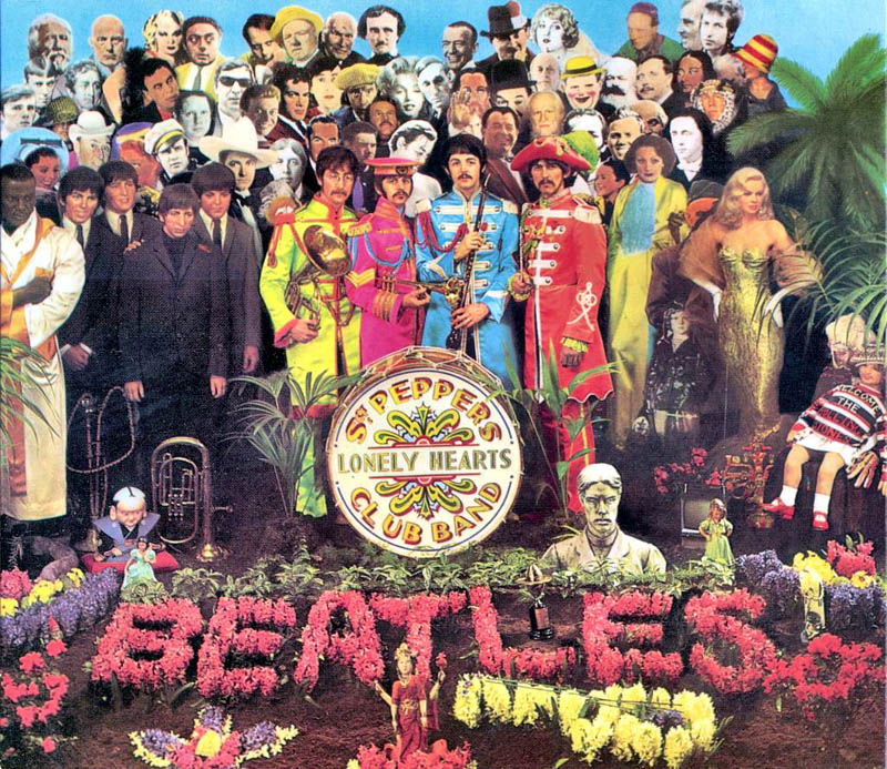the sgt. pepper album cover beatles eighth studio album