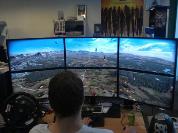 long computer desk plans