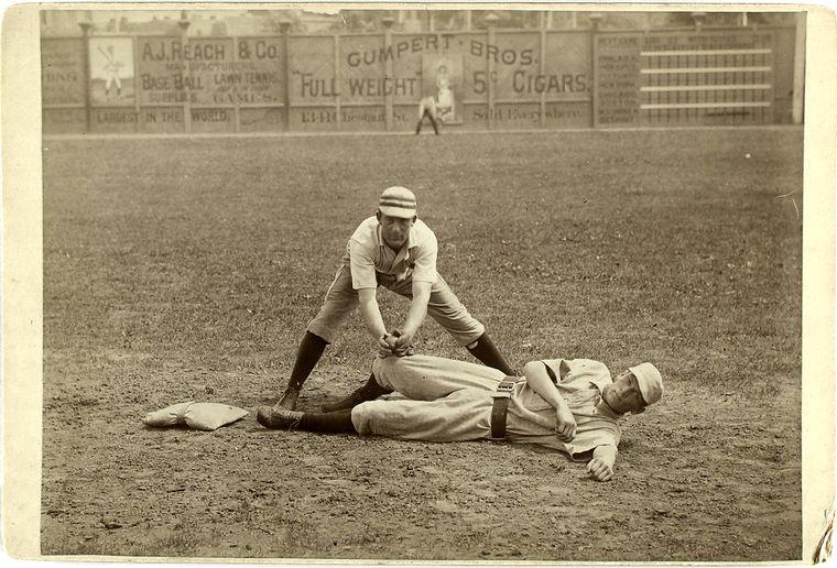 baseball photo Vintage