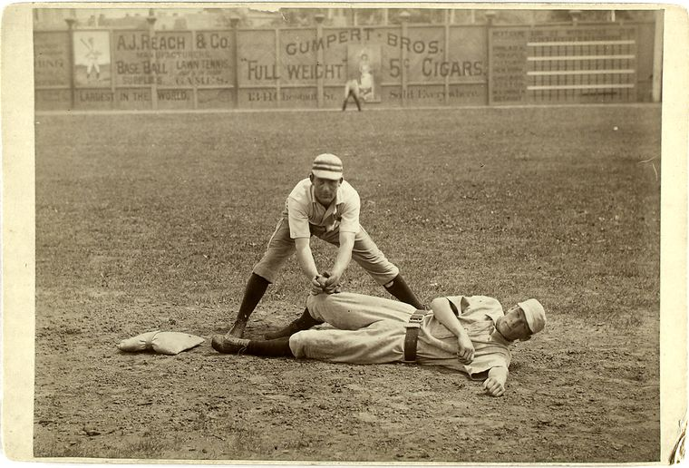 strangely awesome baseball photos from the 1800s twistedsifter