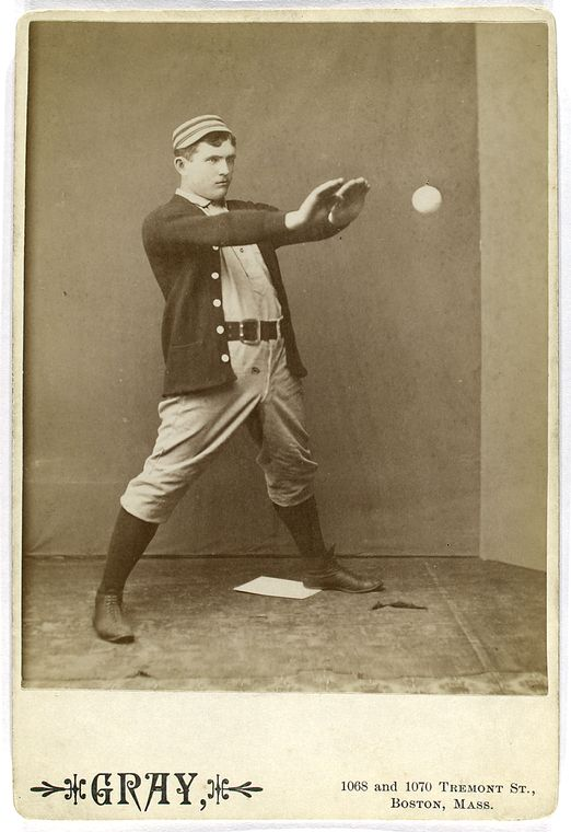 strange funny vintage baseball photos from the 1800s 4 50 Funniest Sports Faces In Motion