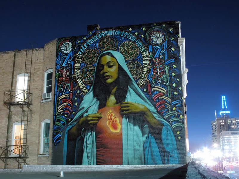 street art murals by el mac 5 Unbelievable Street Art Murals by El Mac