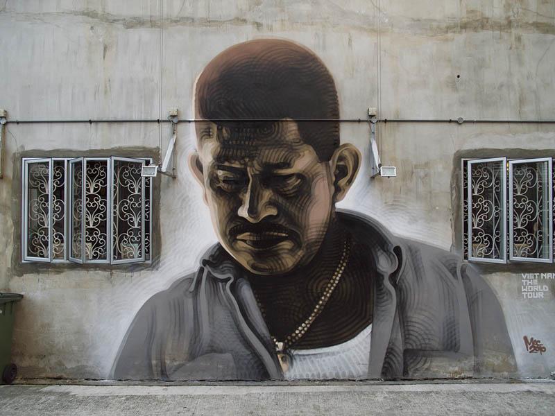 street art murals by el mac 9 Unbelievable Street Art Murals by El Mac