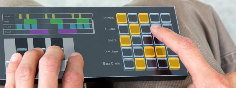The Touchscreen of the Future: Buttons That Morph Onto Surface