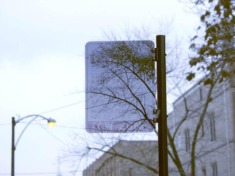 transparent invisible street signs by cayetano ferrer 5 Artist Turns Street Signs and Boxes Into Transparent Objects
