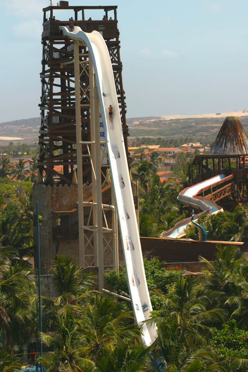 The biggest waterslide in the world