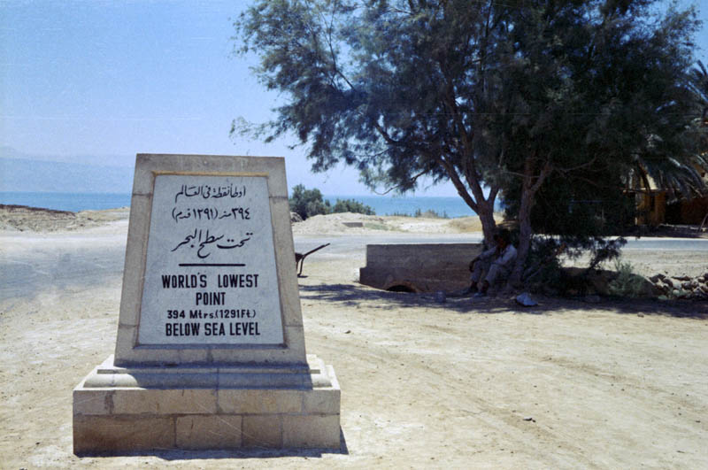 worlds lowest point marker 10 Things You Didnt Know About the Dead Sea
