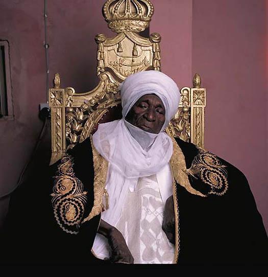 portrait ABUBAKAR SIDIQ – Sultan of Sokoto (Nigeria) by daneil lane