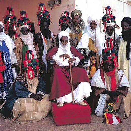 portrait of ALIYU MUSTAPHA – Lamido of Adamawa (Nigeria) by daniel lane