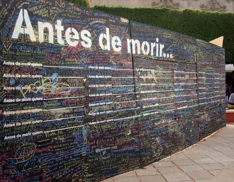 before i die goes wordwide and in multiple languages