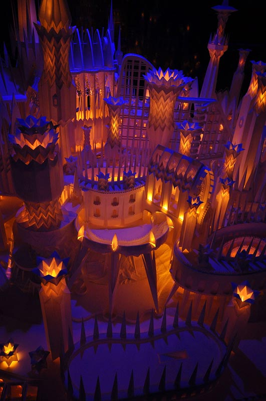 castel made from paper by wataru itou japan 6 An Incredible Castle Made from Paper