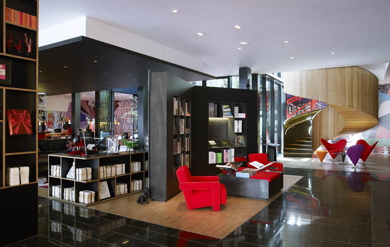 CitizenM London Hotel Common Area