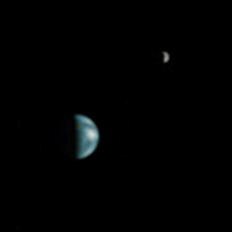 moon shots of earth and mars - photo #13