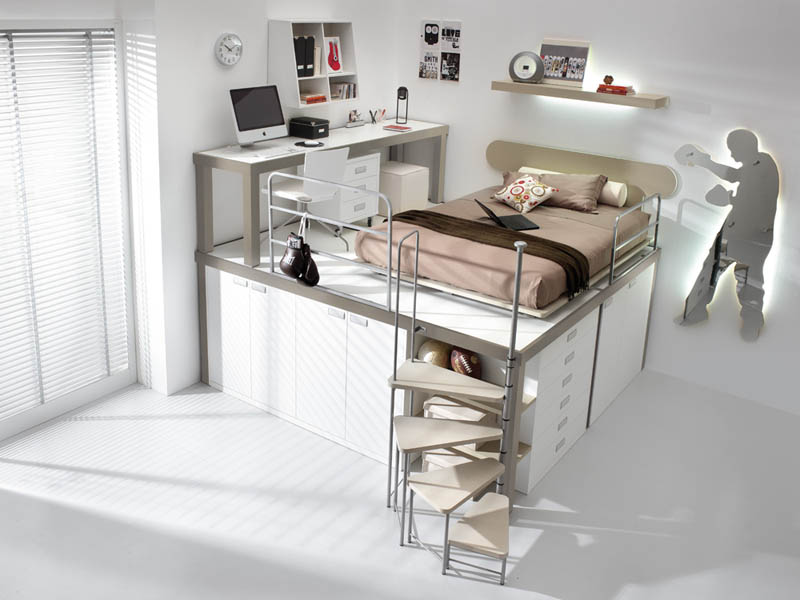 efficient space saving furniture for kids rooms tumidei spa 6 12 Space Saving Furniture Ideas for Kids Rooms