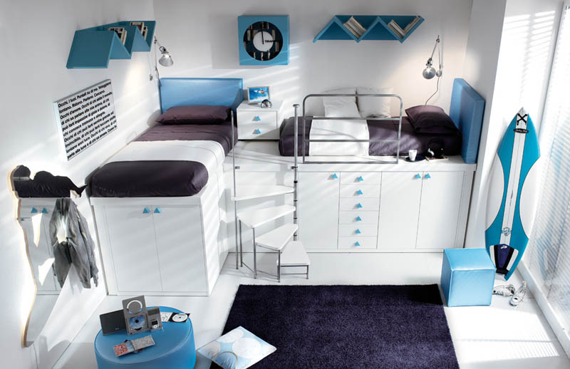 efficient space saving furniture for kids rooms tumidei spa 8 12 Space Saving Furniture Ideas for Kids Rooms