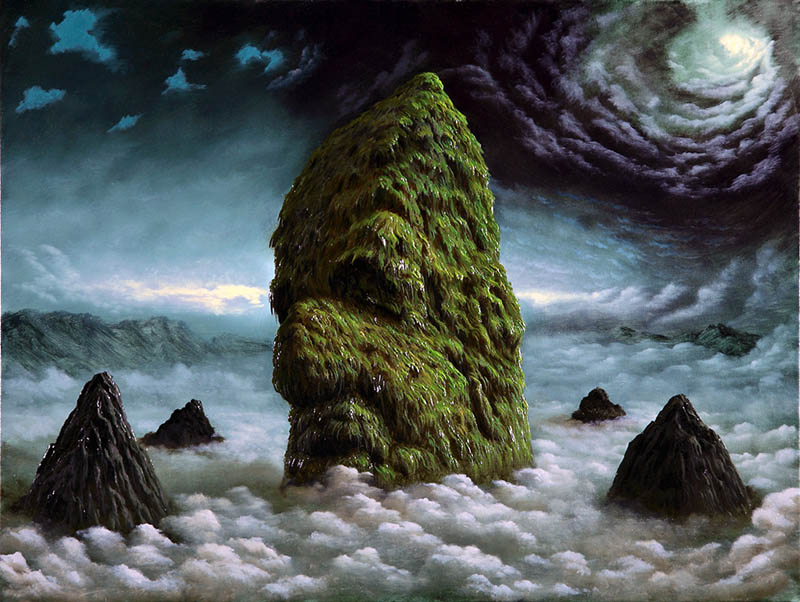 fulviodipiazza sleepingmountain Mind Blowing Oil Paintings by Fulvio di Piazza