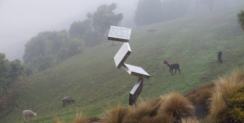 george rickey column of four squares eccentric gyratory The Incredible Sculptures of Gibbs Farm