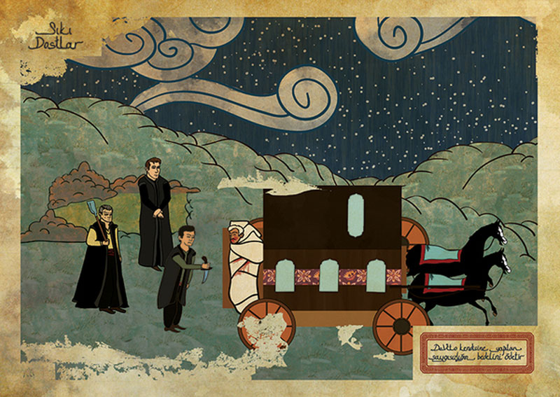 goodfellas movie as ottoman motif 11 Classic Movie Scenes as Ottoman Motifs