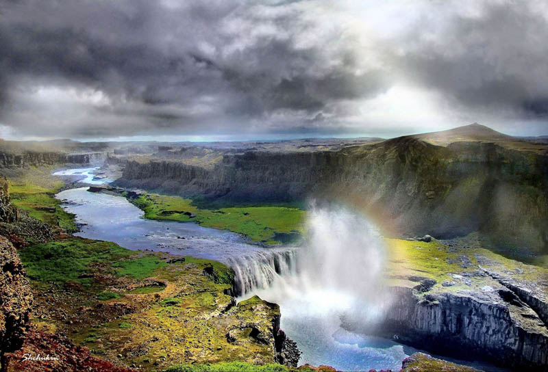 Picture of the Day: Hafragilsfoss Waterfall, Iceland ...