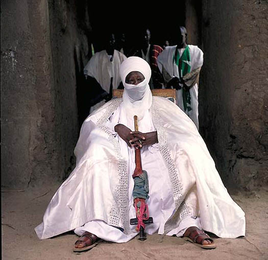 portrait of HALIDOU SALI – Lamido of Bibemi (Cameroon)