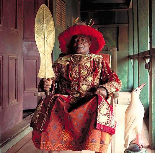 igwe kenneth nnaji onyemaeke orizu iii e28093 obi of nnewi nigeria The Kings of Africa: 18 Portraits by Daniel Laine