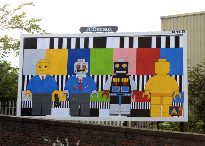 infected by design street art brandalism Brandalism Project Subverts Billboards Across the UK [25 pics]