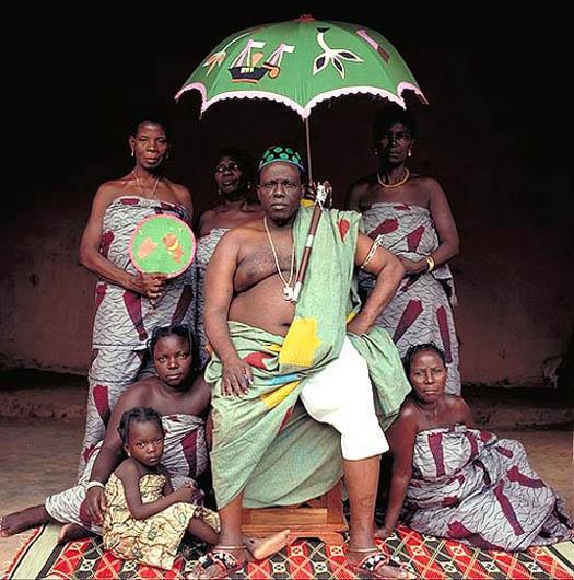 portrait of JOSEPH LANGANFIN (Benin) by daniel lane