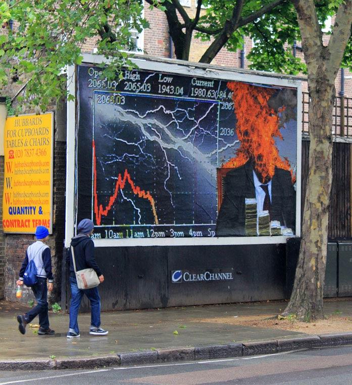 kennard phillips brandalism street art Brandalism Project Subverts Billboards Across the UK [25 pics]