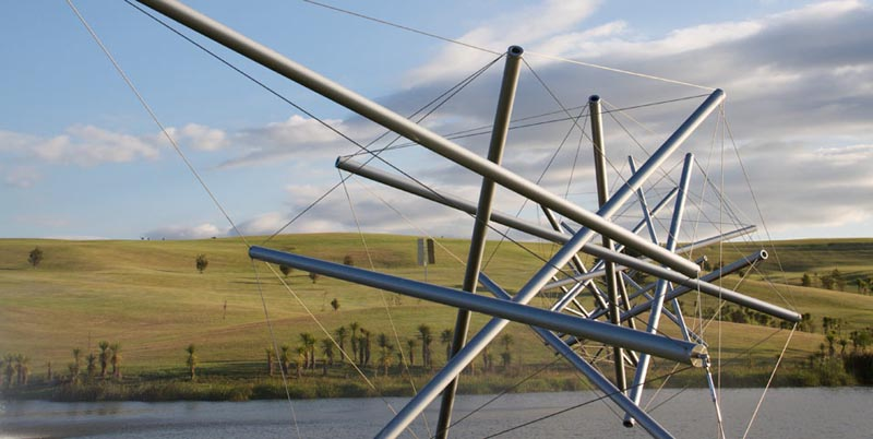 kenneth snelson easy k 2 The Incredible Sculptures of Gibbs Farm