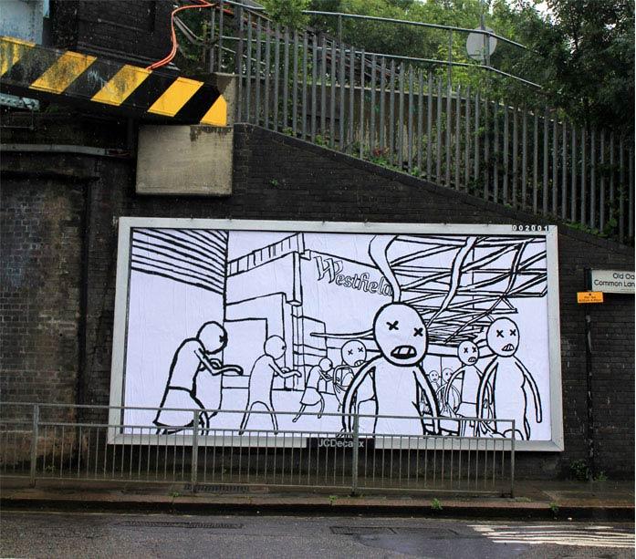 leo murray brandalism street art Brandalism Project Subverts Billboards Across the UK [25 pics]