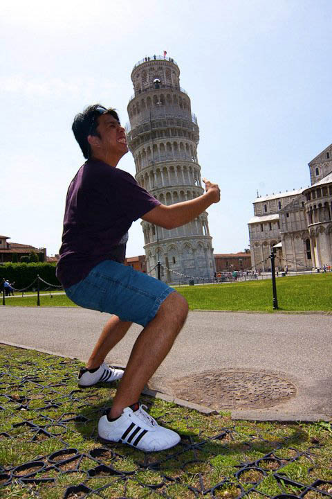 lifting the tower of pisa funny Ten Alternatives to Leaning on the Tower of Pisa