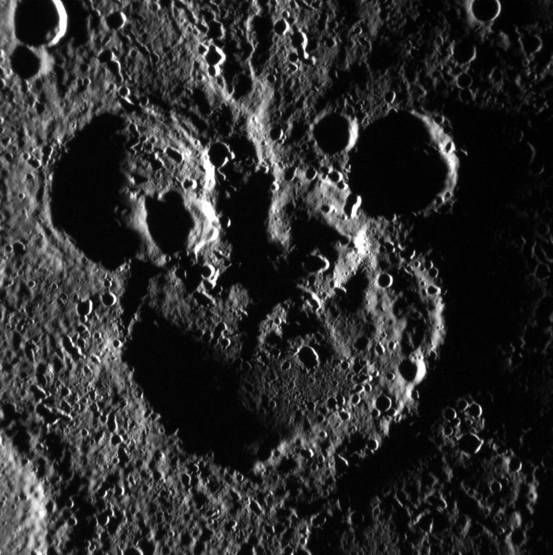 mickey mouse on mercury Picture of the Day: Mickey Mouse on Mercury