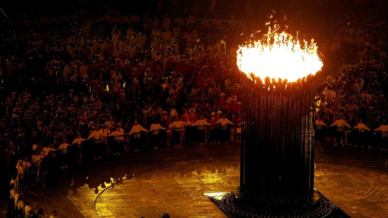 olympic cauldron opening ceremony london 2012 10 10 Incredible Photos of the Olympic Cauldron