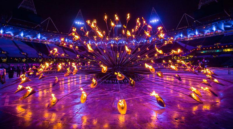 olympic cauldron opening ceremony london 2012 5 10 Incredible Photos of the Olympic Cauldron